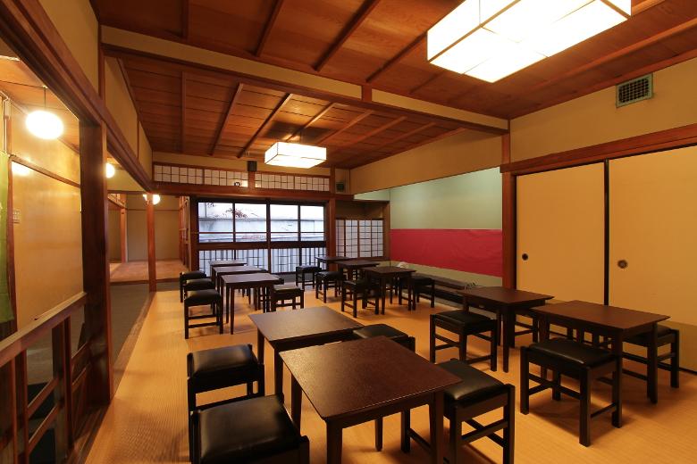 団体での京都観光